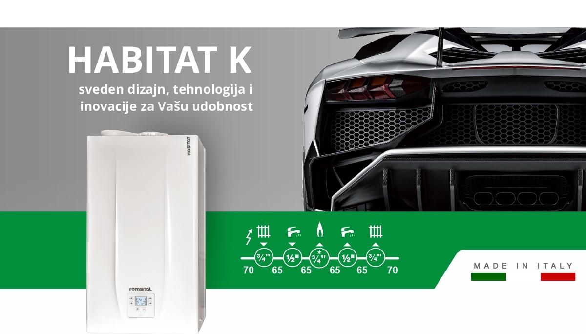 habitat k gasni kotao prezentacija i tehnicki podaci