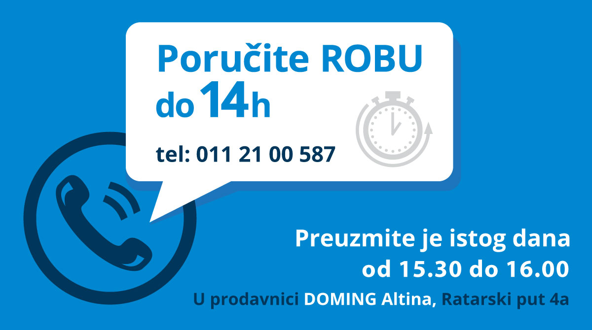 doming altina preuzimanje robe