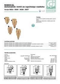 Automatski ventil za ispuštanje vazduha
