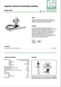 Ispusni ventil za termičku zaštitu