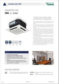 Kasetni ventilator konvektori IWC