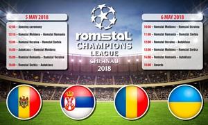 Turnir u minifudbalu za kompanije Romstal Grupe