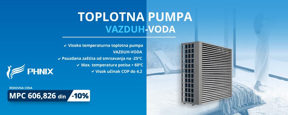 PHNIX - TOPLOTNA PUMPA VAZDUH-VODA