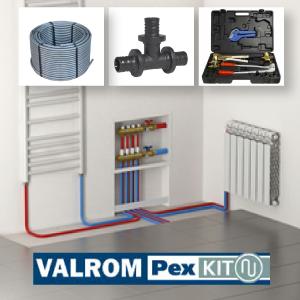 Pex cevi i fiting za radijatorsko grejanje i distribuciju sanitarne tople/hladne vode