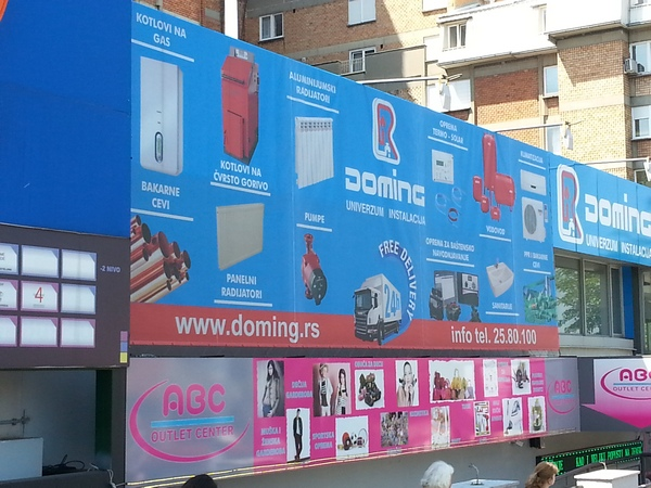Doming - Pašino brdo